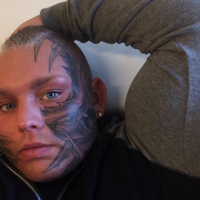 tatoveringer i ansigtet