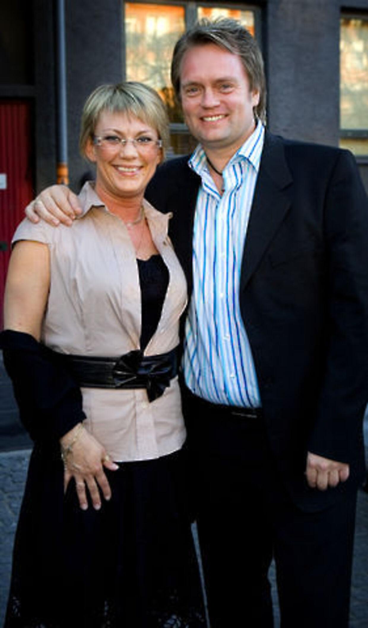 Så glade så de ud Helle Bekhøj og Johnny Hansen. Det er stadig en gåde, hvorfor Helle Bekhøj valgte at tage sit eget liv.