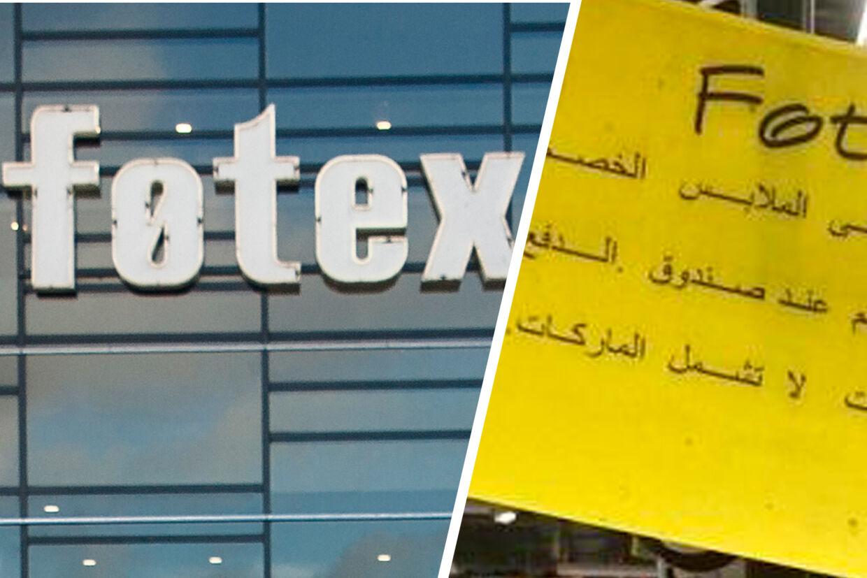 Pressechefen i Dansk Supermarked fastholder, at det er fornuftigt at skilte på arabisk i Føtex i Sønderborg.