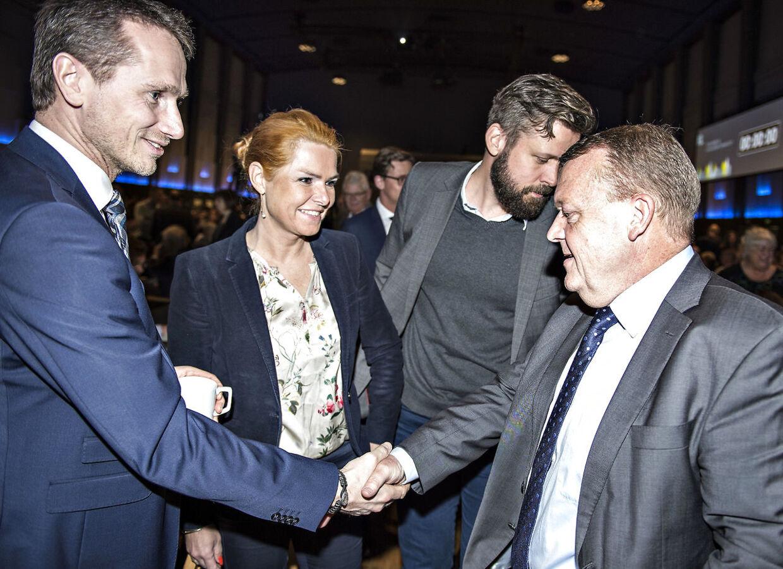 Både Lars Løkke Rasmussen, Inger Støjberg og Kristian Jensen er ikke at finde på stemmesedlen for Venstre ved næste valg. Sidstnævnte er dog stadig medlem af partiet.