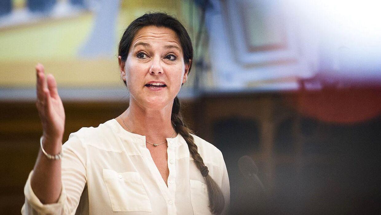 Jane Heitmann, ældreordfører (V), ser ingen mørke skyer i horisonten.