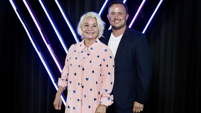 Signe Lindkvist og Thomas Evers Poulsen dansede sammen i 'Vild med dans' i 2018.