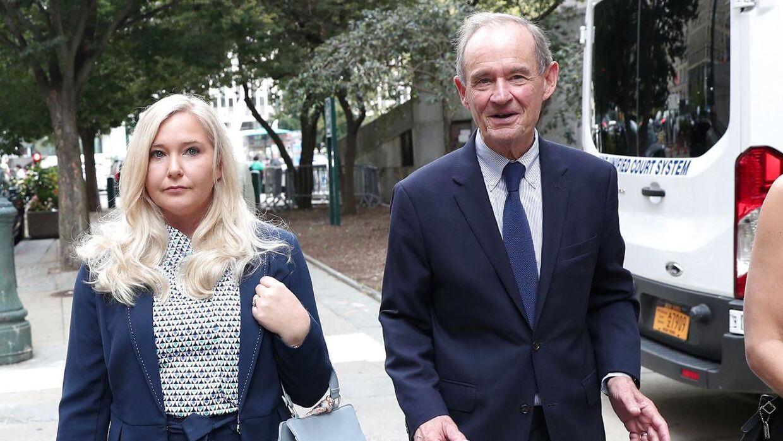 Virginia Giuffre med sin advokat David Boies. Foto: REUTERS/Shannon Stapleton