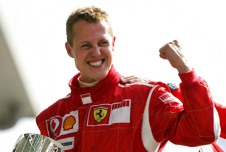 Michael Schumacher blev verdensmester hele syv gange som aktiv Formel 1-kører.