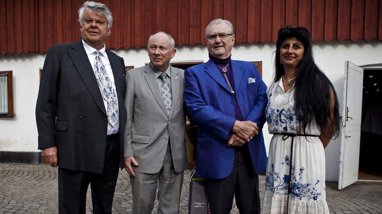 Christian Kjær ses her på Sandbjerggaard, da han holdt 70 års fødselsdag.