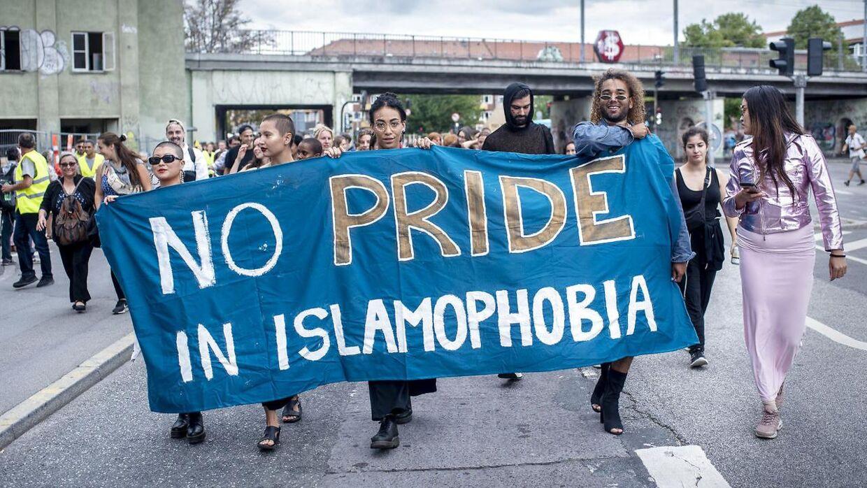 En af Nørrebro Prides mærkesager er at sige fra over for islamofobi.