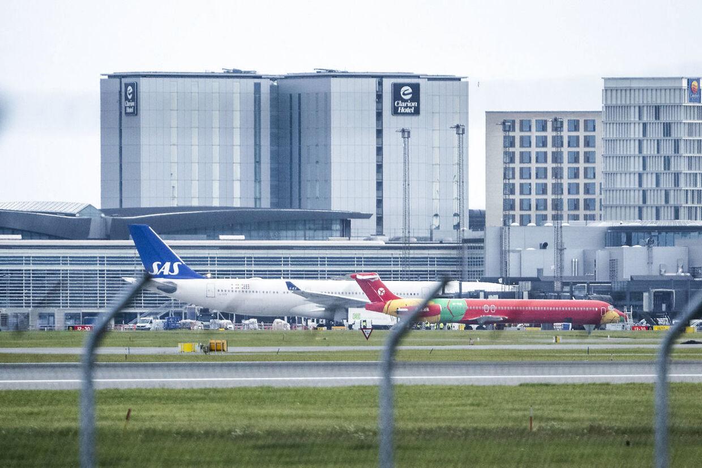 DAT-fly med evakuerede fra Afghanistan ankommer til Københavns lufthavn i Kastrup, onsdag den 18. august 2021. Flyet med 14 evakuerede nordmænd og en person med lovligt ophold i Danmark, er fløjet fra Islamabad i Pakistan via Tbilisi i Georgien.