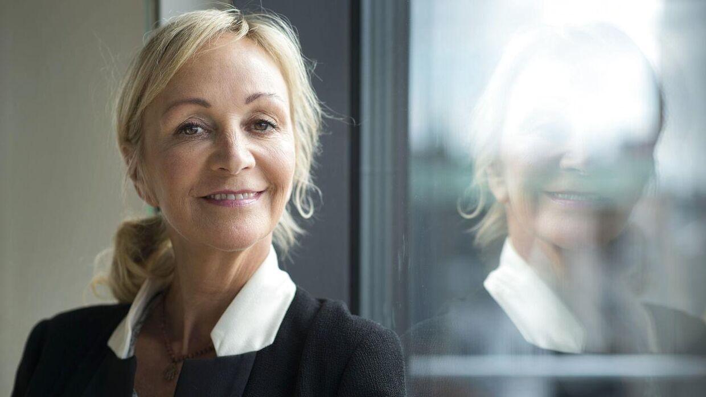 Charlotte Bircow har sat sin lejlighed i Hellerup til salg.