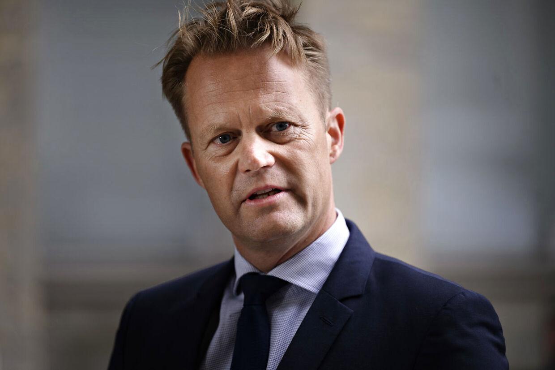 Udenrigsminister Jeppe Kofod (S).