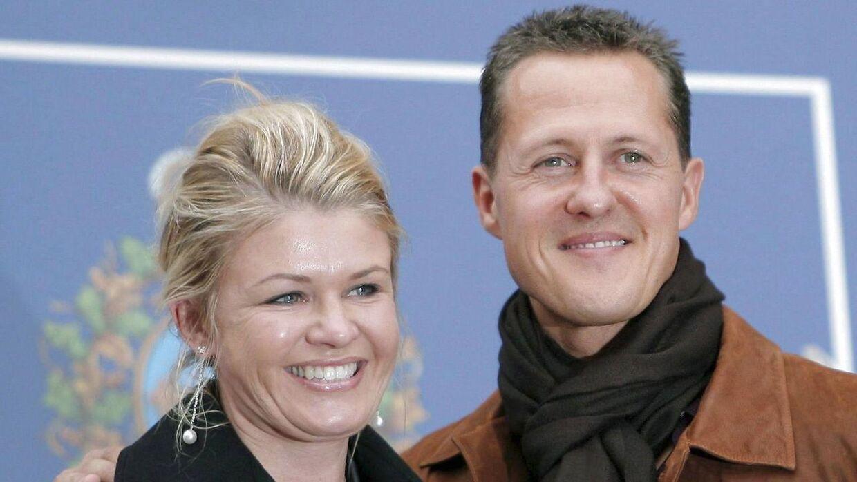 Michael Schumacher og Corinna Schumacher.
