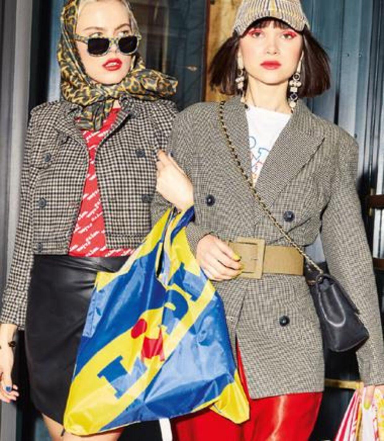 Lidl har udgivet en modekollektion, der har opnået en voldsom popularitet. Foto: Lidl.