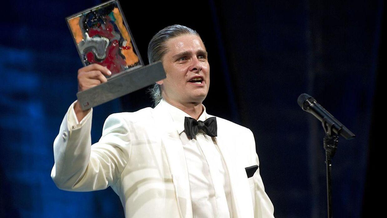 Mads M. Nielsen, da han i 2011 ved Årets Reumert blev kåret til 'årets mandlige hovedrolle'.