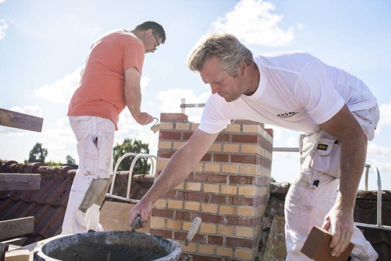 Undersøgelser viser, at 35 procent af byggevirksomhederne i Storkøbenhavn oplever akut mangel på arbejdskraft. Foto: Ritzau/Scanpix.