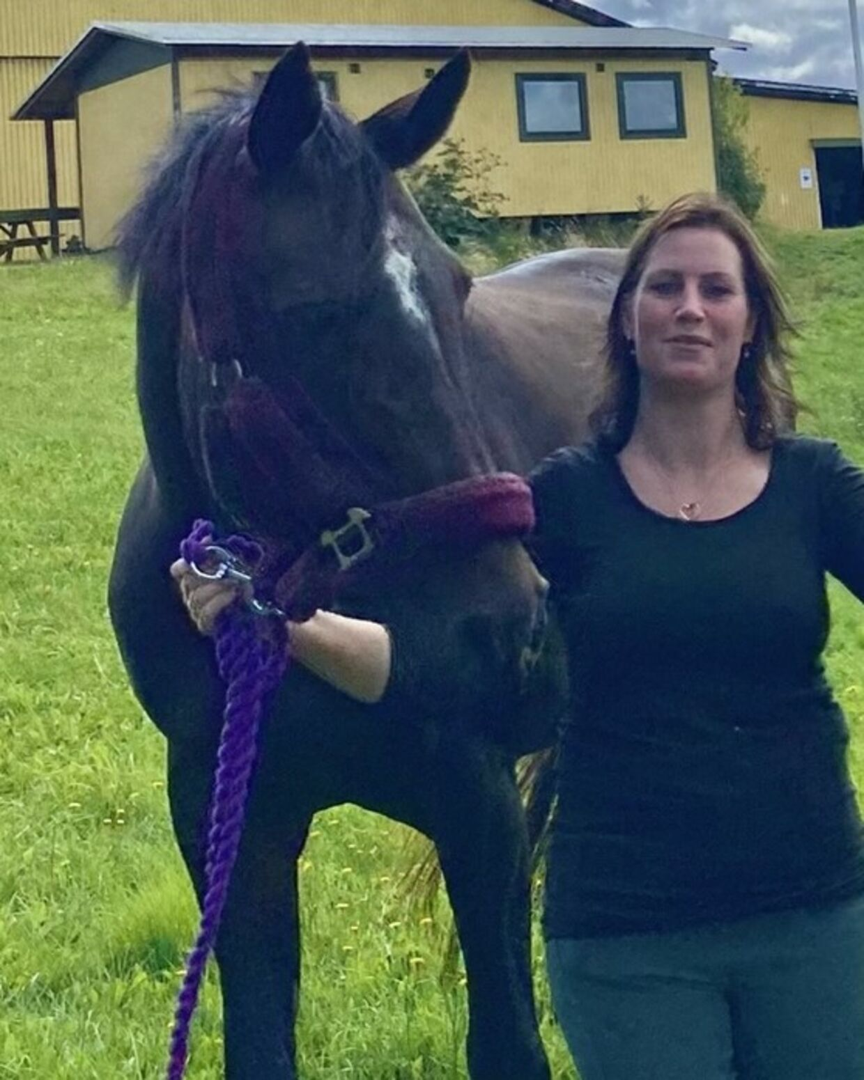 Da Mette Stentoft kom ud til sin hest morgenen efter overgrebet, var Florica urolig og ville umiddelbart ikke hilse på hende.