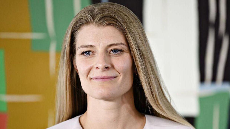 Kultur- og kirkeminister Ane Halsboe-Jørgensen har ifølge Jim Lyngvild den helt rette udstråling til at posere som vølve.