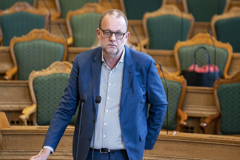 Venstres Lars Christian Lilleholt er rasende over de nye oplysninger. (Foto: Niels Christian Vilmann/Ritzau Scanpix)