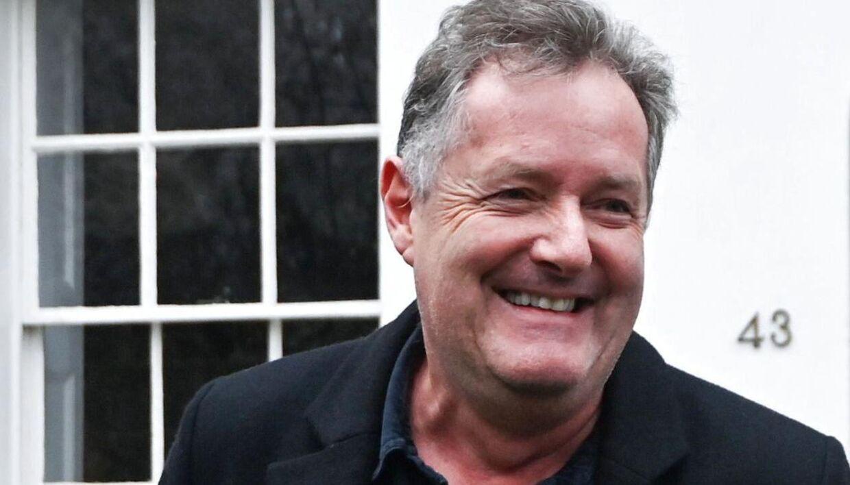 Piers Morgan har meget at grine af i dag.