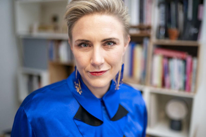 Mette Helena Rasmussen mødte stor kritik, da hun klædte sig ud som muslim.