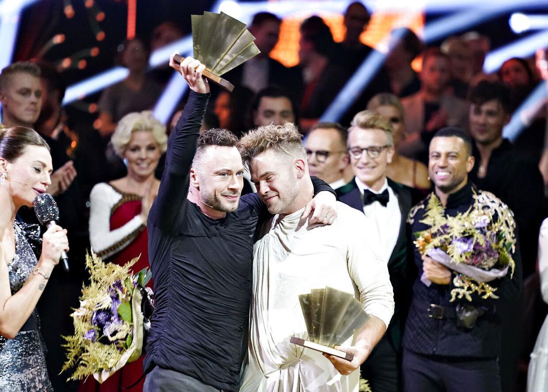Jakob Fauerby og Silas Holst vandt i 2019 'Vild med dans'.