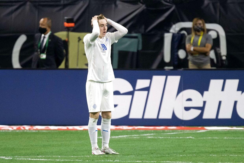 Selv om han kun er fyldt 18 i år, har Isak Bermann Johannesson allerede spillet flere kampe på det islandske landshold.