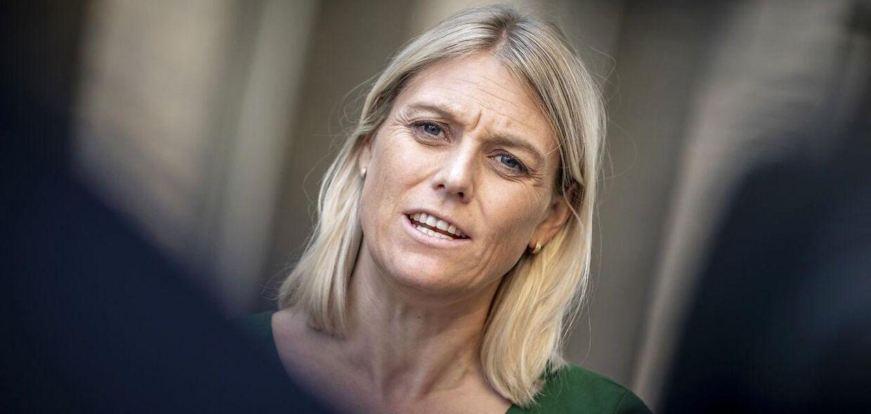 Forsvarsminister Trine Bramsen (S)