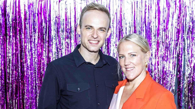 Sundhedsekspert og iværksætter Michelle Kristensen og danser Mads Vad er blandt årets 'Vild med dans'-par.