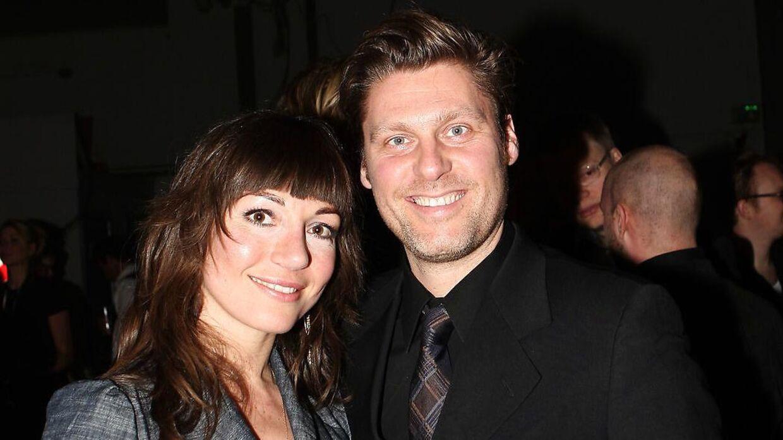 Tv-vært Timm Vladimir og krimiforfatter Katrine Engberg har været gift i 13 år, men er nu flyttet fra hinanden. Her ses de til Zulu Awards tilbage i 2008.