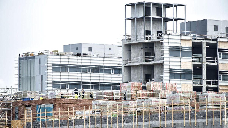 Det nye supersygehus er sat til at være færdig i 2023.