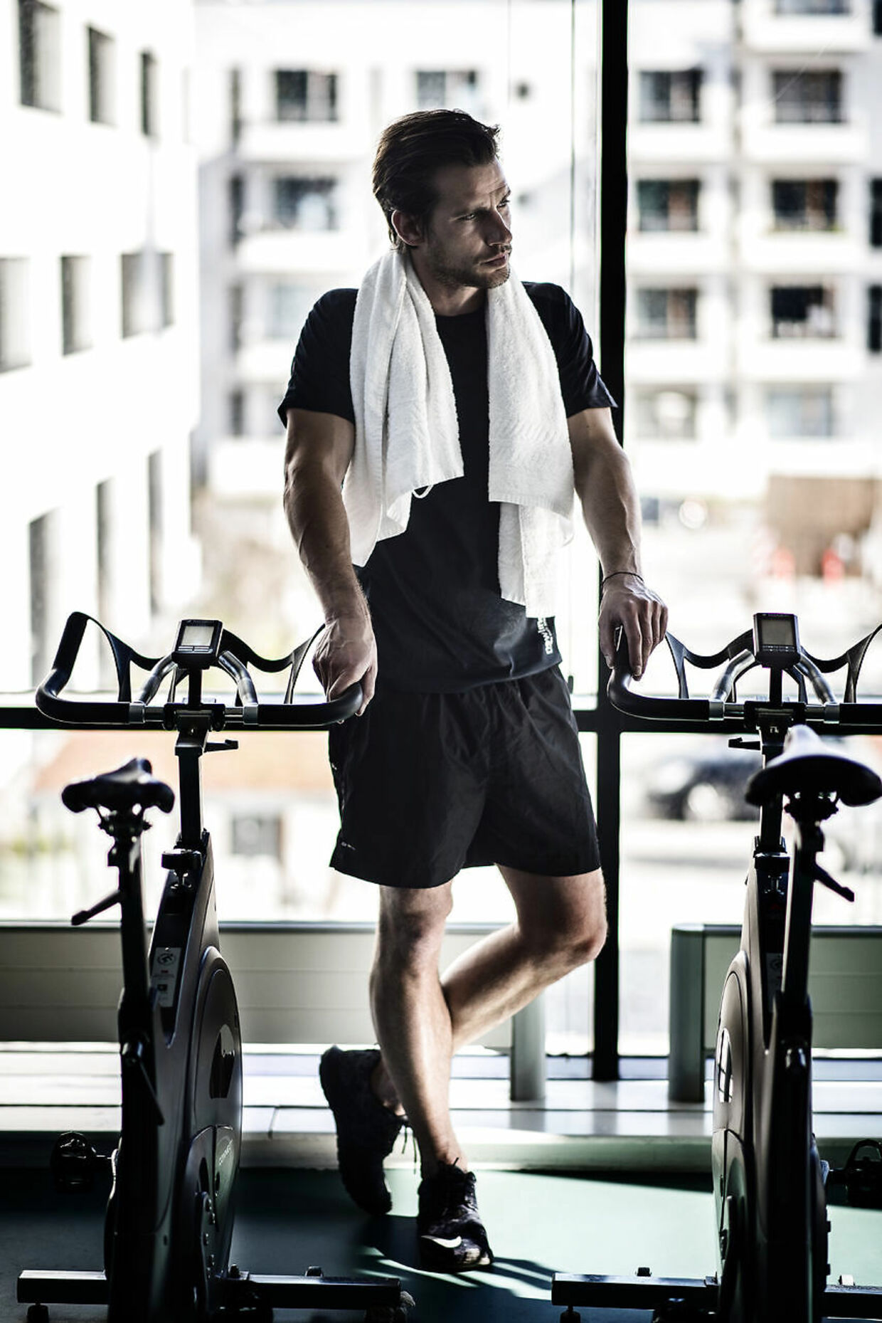 Christian Bitz fotograferet i Fitness DK på Fisketorvet i København.
