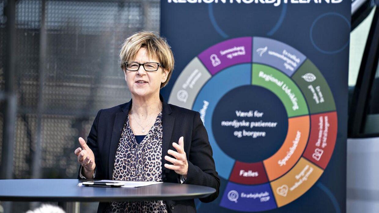 Ulla Astman har været regionsrådsformand siden 2007.