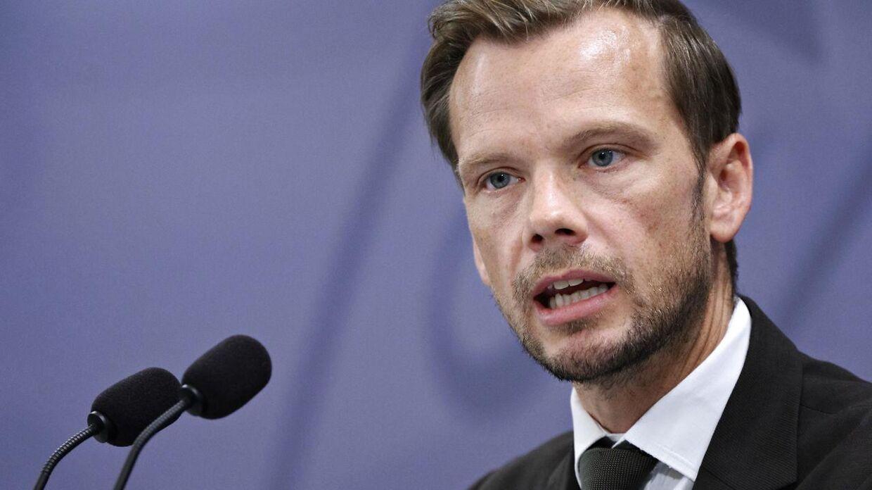 Beskæftigelsesminister Peter Hummelgaard