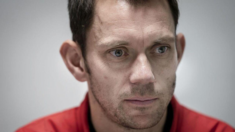 Den danske Davis Cup-kaptajn, Frederik Løhcte Nielsen, ærgrer sig over afbuddet.