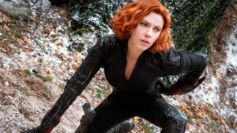 Scarlet Johansson i rollen som Balck Widow.
