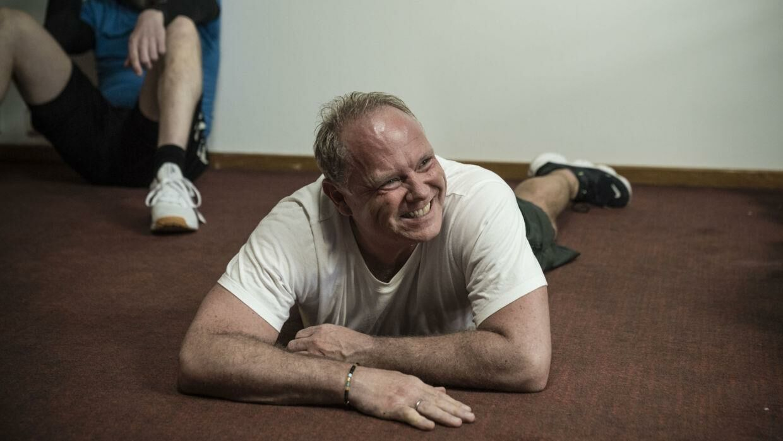 Cutfather vejede 98 kilo ved programmets begyndelse, men ender med et vægttab på 15 kilo.