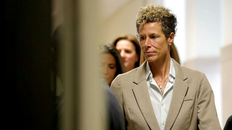 Andrea Constand under retssagen i 2018.