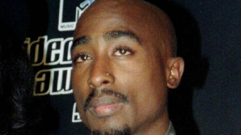Tupac Shakur til MTV Music Video Awards i New York 4. september 1996. Ni dage senere døde han.