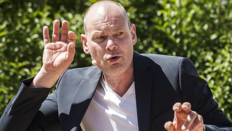 Komiker og skuespiller Andreas Bo.