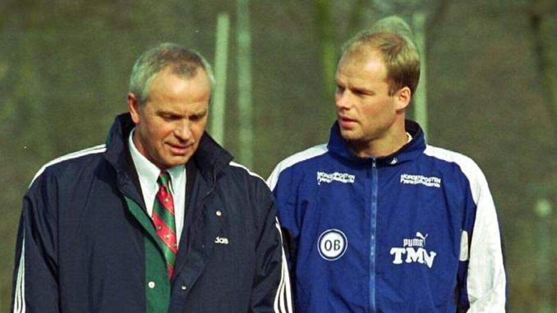 Tommy Møller Nielsen nåede også at spille i OB mens far Richard var træner.