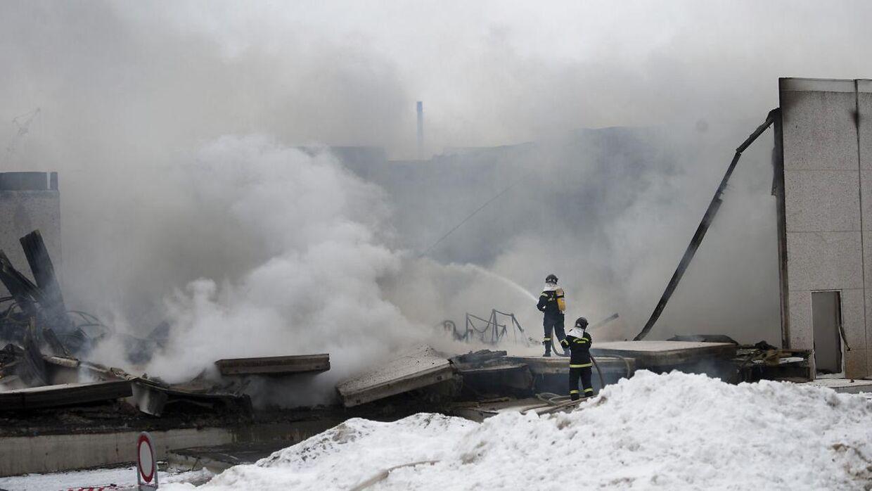 Stoffet PFOS blev tidligere brugt i det skum, brandfolk brugte til at slukke brande med.