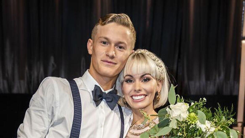 Albert Rosin Harson og Jenna Bagge endte på en andenplads i 'Vild med dans' 2020.