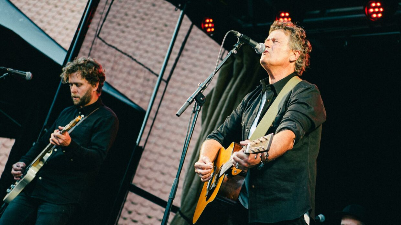 Poul Krebs spillede lørdag eftermiddag på Nu Festival.
