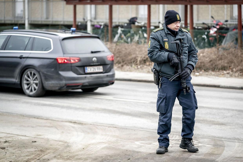 Grundlovsforhør i Retten i Holbæk mod syv personer, der er mistænkt for at planlægge terror i Danmark eller Tyskland.