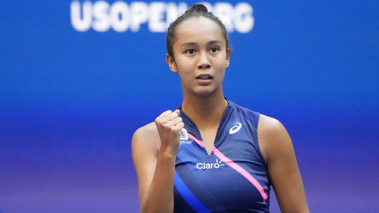 Leylah Fernandez spillede US Open-finale mod Emma Raducanu.