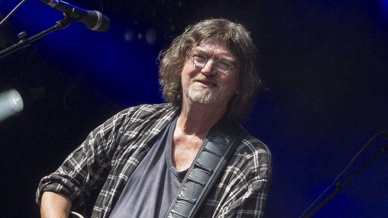 Johnny Madsen og band på Skanderborg Festival i 2014.