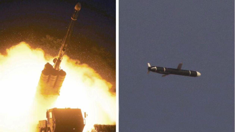 Både lørdag og søndag har Nordkorea gennemført affyringer af vidtrækkender missiler.
