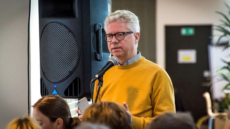 Adm. direktør i Cbrain, Per Tejs Knudsen, tilbage i 2016.