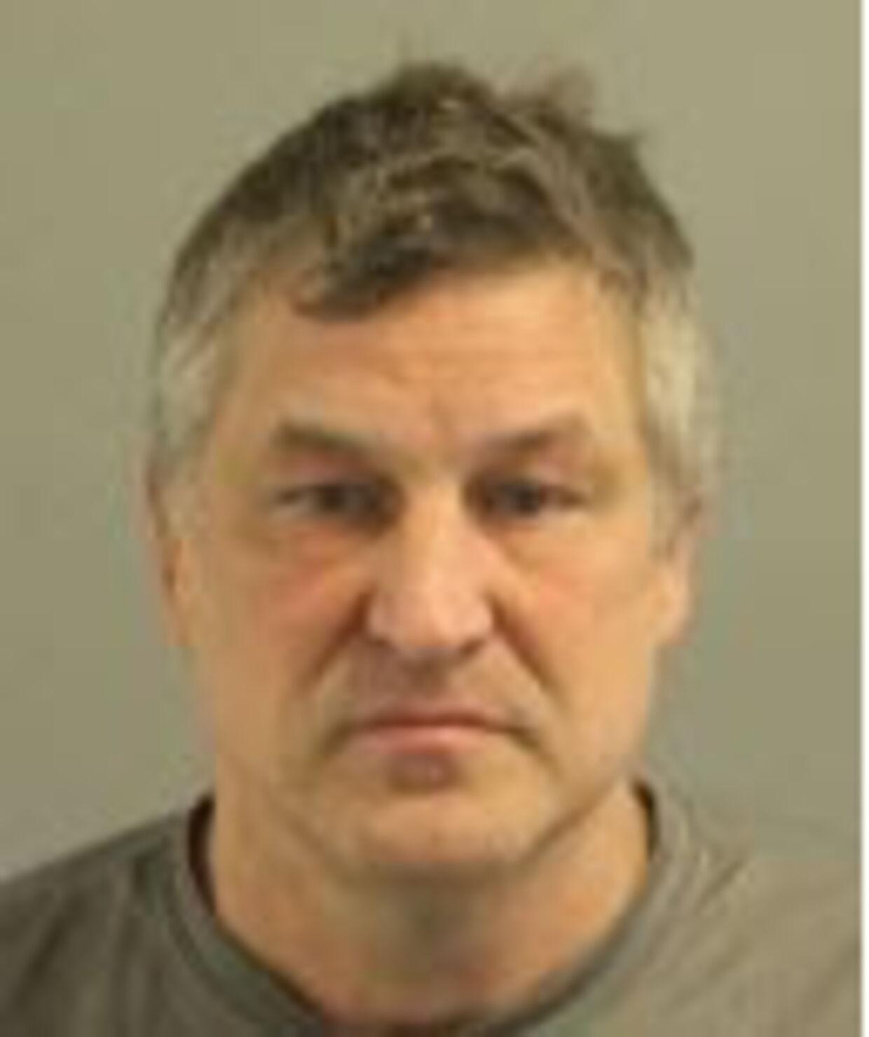 Arkivfoto af Thomas Stemen fra anholdelsen af ham.