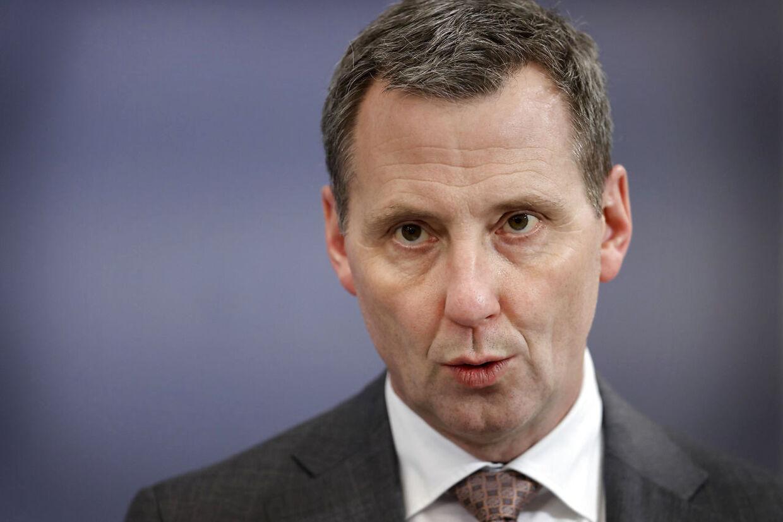 Justitsminister Nick Hækkerup (S). (Foto: Jens Dresling/Scanpix 2021)