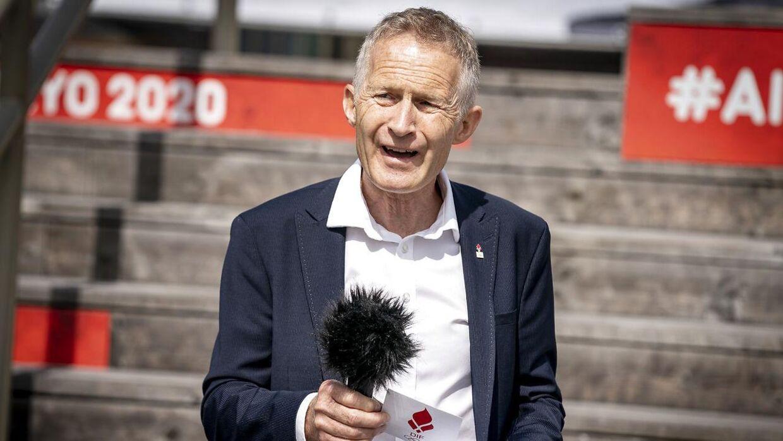 Formand i DIF, Hans Natorp, afviser ikke, at padelforbundet på sigt kan blive optaget som et specialforbund.