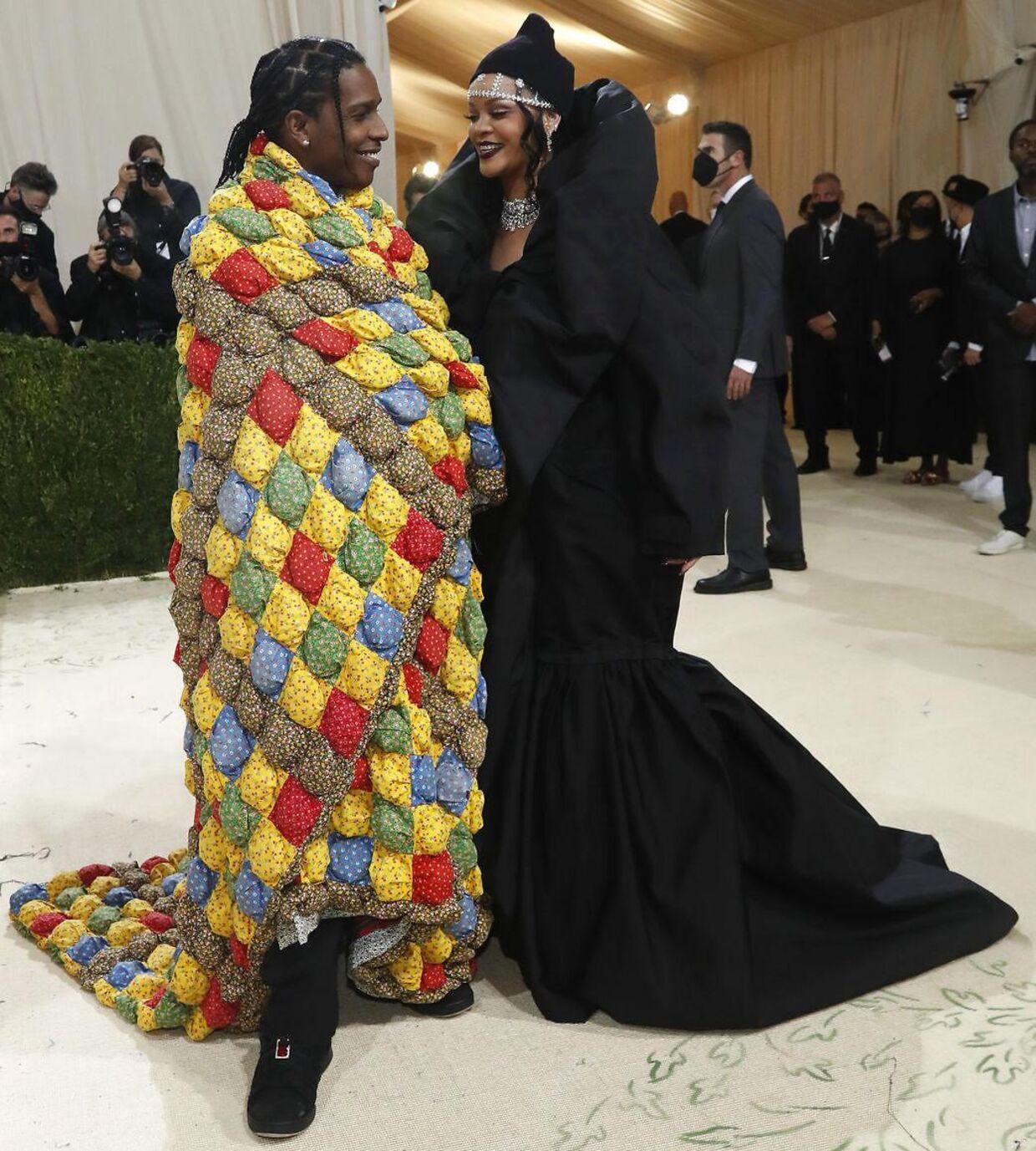 ASAP Rocky og Rihanna.